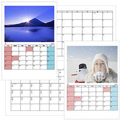 無料ダウンロードできる!エクセル月別カレンダー2017年版