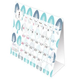 ポップに可愛い北欧デザインカレンダー