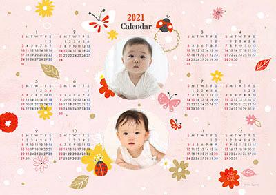 キャノン・カレンダー フォトフレームタイプ