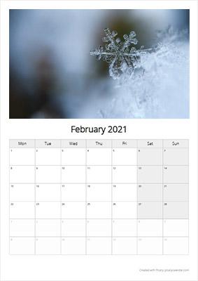 Picallyカレンダー2