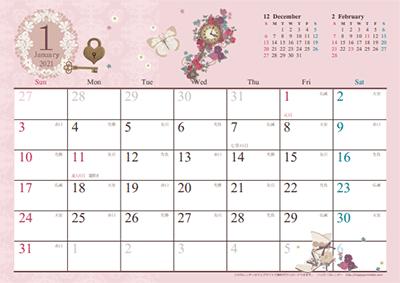 デスクに飾りたい素敵な卓上カレンダー2021